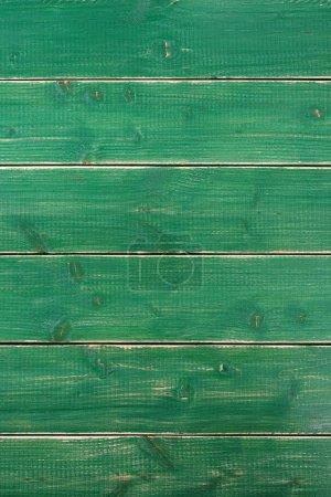 Photo pour Vieux vintage vert peint texture de fond en bois vertical - image libre de droit