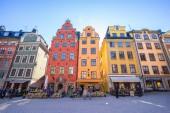 Stockholm, Sweden - May 4, 2017: Gamla Stan old town in Stockholm city, Sweden.