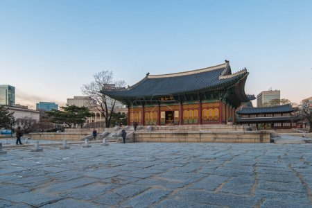 Deoksugung Palace in Seoul city, South Korea....