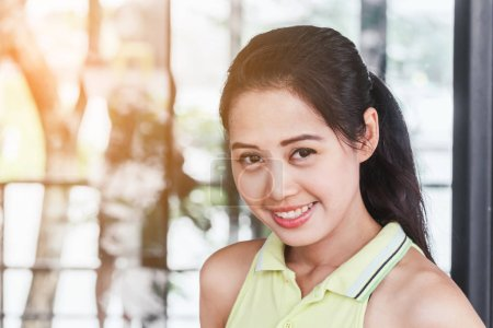 Photo for Young smiling asian woman - Royalty Free Image