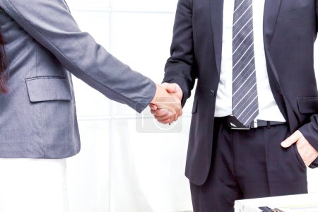 Photo for Handshake of business partners - Royalty Free Image