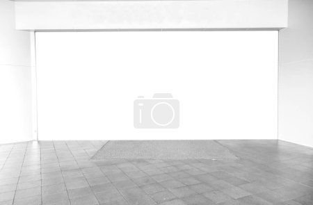 Photo for Empty interior with mock up white space - Royalty Free Image