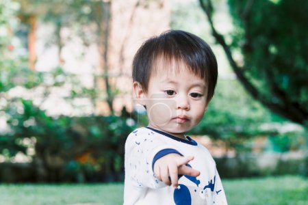 Photo for Portrait of Little baby boy - Royalty Free Image