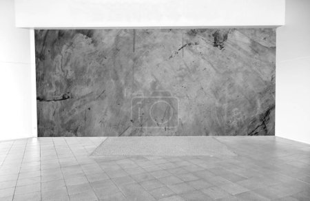 Photo pour Intérieur vide avec espace de texture en pierre - image libre de droit