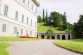 Bellagio, Italy - September 06, 2017: Villa Melzi on lake Como in Bellagio.