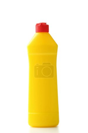 Photo for Bottle with detergent isolated on white background - Royalty Free Image