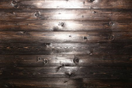 Photo for Old brown wooden texture background - Royalty Free Image