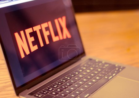 Photo for Dallas, Texas/ United States - 05/10/2018: (Photograph of Netflix logo on computer screen) - Royalty Free Image