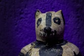Oaxaca, Oaxaca / Mexico - 21/7/2018: ( Prehispanic art at Rufino Tamayo Museum in Oaxaca Mexico )