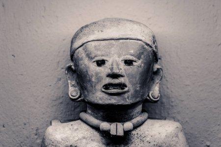 Oaxaca, Oaxaca / Mexico - 21/7/2018: ( Prehispanic art at Rufino Tamayo Museum in Oaxaca Mexico )