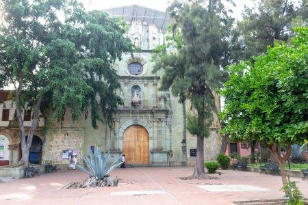 Oaxaca, Oaxaca / Mexico - 21/7/2018: (Our Lady of La Merced temple in Downtown Oaxaca Mexico)