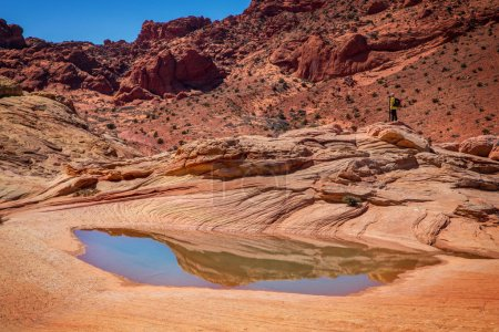 Photo for The Wave Vermillion Cliffs Arizona, USA - Royalty Free Image