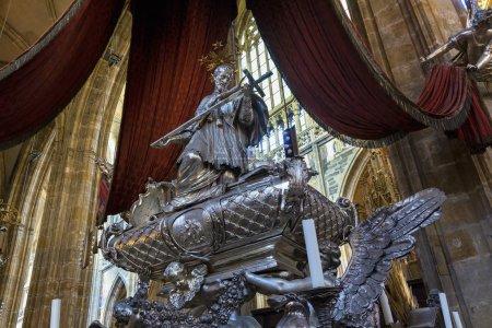 Photo pour République tchèque, Prague, Cathédrale Saint-Vitus - image libre de droit