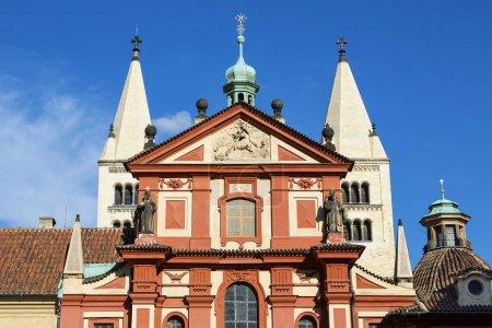 Photo pour Prague, Basilique Saint-Georges - image libre de droit