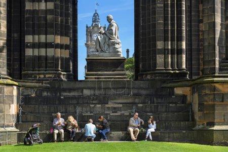 Photo pour Écosse, Édimbourg, Walter Scott Monument en Écosse - image libre de droit