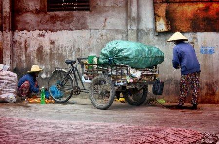 Ho Chi Minh city, Vietnam-October 3, 2018.Vietname...