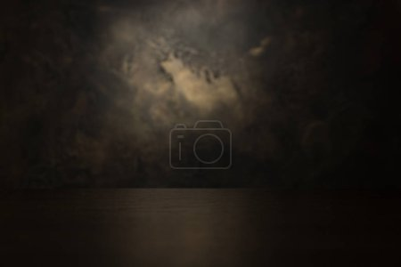 Photo for Dark aged decorative plaster background texture - Royalty Free Image