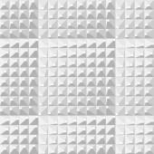 Seamless White Geometric Pattern Gradually Modulated Polygon Background EPS8 Vector