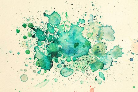 abstrakte Aquarell-Hintergrundmalerei