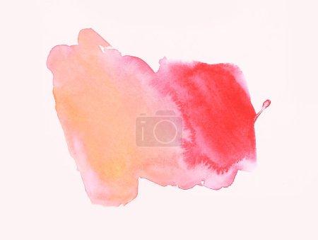 Photo pour Peinture abstraite de fond aquarelle - image libre de droit