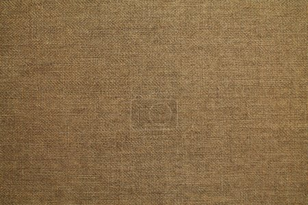 Photo for Natural linen material textile canvas texture background - Royalty Free Image