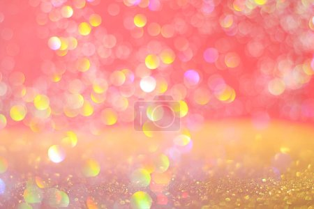 Photo for Glitter texture abstract splendor color decoration background - Royalty Free Image