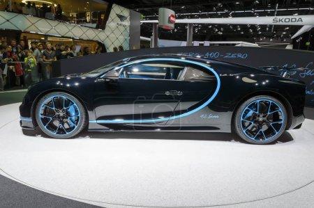Bugatti Chiron 04000 car at
