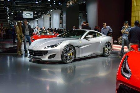 Ferrari Portofino sports car premiere