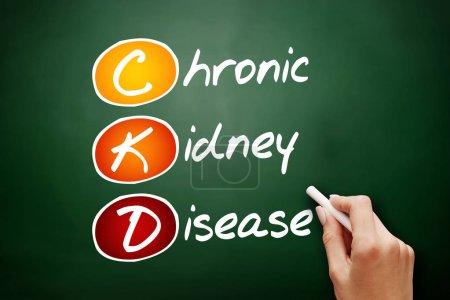 CKD - Chronic Kidney Disease, acronym health conce...
