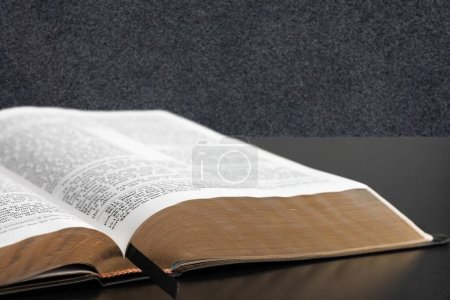 Holy bible book on background