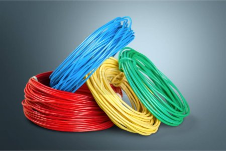 Electric screened cable