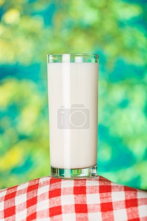 Photo for Milk in glass close-up view - Royalty Free Image
