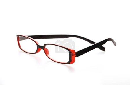 gafas de vista individuales en blanco