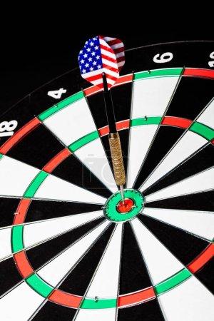 Efficiency target dart goal achievement success aspirations