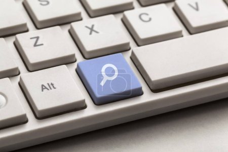 Keyboard search icon seo button glass want