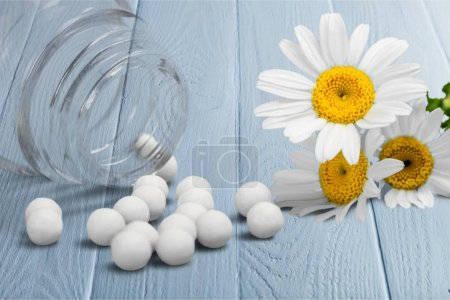 Homeopathic medicine herbal medicine alternative medicine medicine chamomile healthcare and medicine chamomile plant