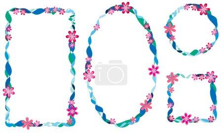 Foto de Letra del alfabeto con flores - Imagen libre de derechos