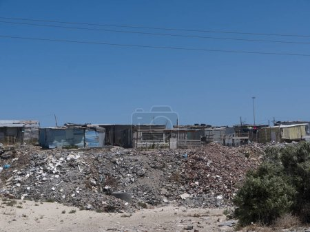 Photo for Khayelitsha township close to Cape Town South Africa - Royalty Free Image