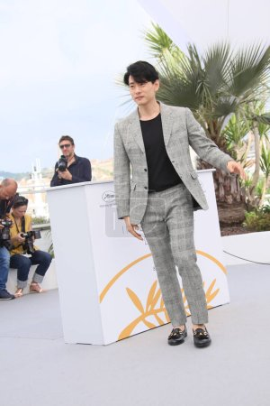 Teo Yoo attends the photocall