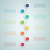Number Steps Infographic 5