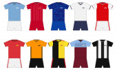 English Football kits set 2019-2020