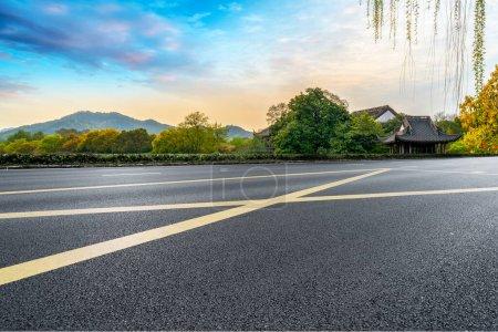 Photo for Road and Natural Landscape Landscape - Royalty Free Image