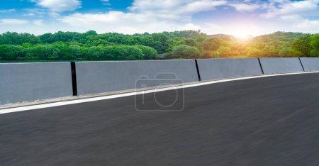 Photo pour Paysage routier et naturel Paysage - image libre de droit