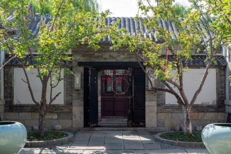Photo for Old courtyard building of Daming Lake in Jinan - Royalty Free Image