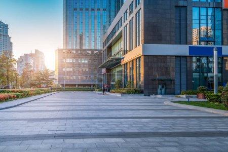 Photo pour Qingdao paysage architectural urbain moderne - image libre de droit