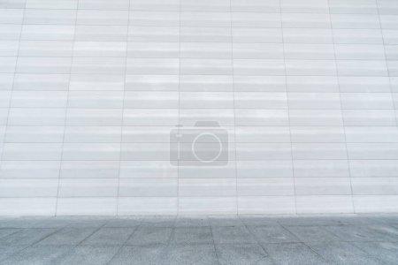 Photo pour Fond en pierre blanche wal - image libre de droit