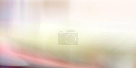 Photo for Background of vertical wavy lines of pastel abstract horizon - Royalty Free Image