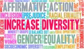 Increase Diversity Word Cloud