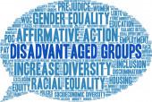 Disadvantaged Groups Word Cloud