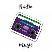 Fashion patch element radio